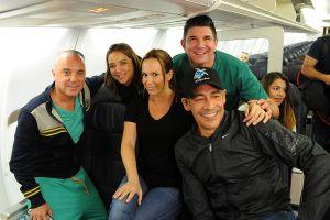 Adamari López, Johnny Lozada y más famosos llevan 10 toneladas de víveres a Puerto Rico