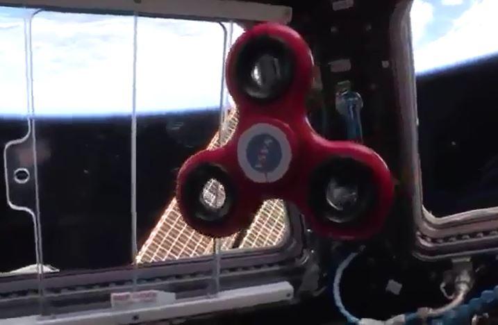 Video: Así gira un spinner desde el espacio