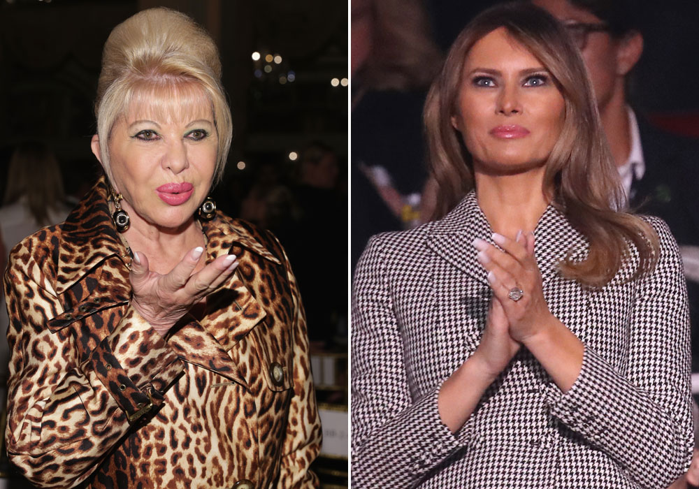 """Ivana Trump se autonombra """"Primera Dama"""" y Melania le responde con todo"""