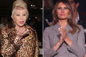 """Así califica Ivana Trump el desempeño de Melania, la """"primera dama"""" de EEUU"""