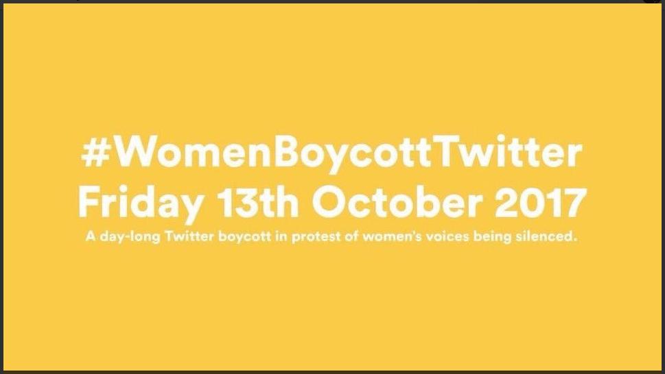 Las celebridades se unen al #WomenBoycottTwitter