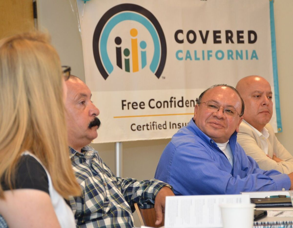 Wilfredo Castillo es un residente de California beneficiado con Covered California.