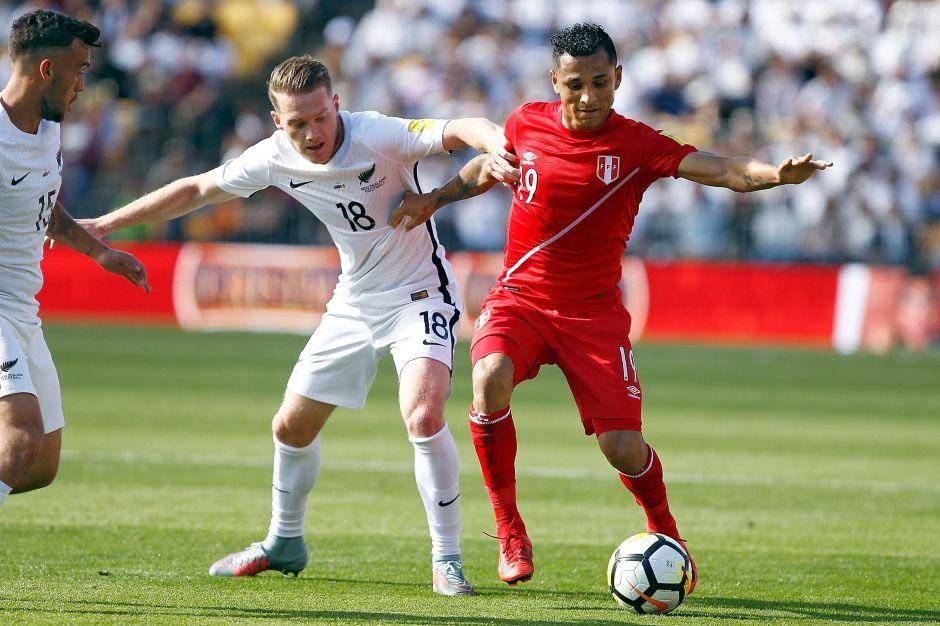 Insípido empate entre Nueva Zelanda y Perú rumbo al Mundial