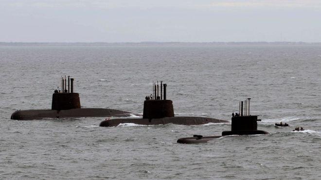 """El ARA San Juan """"perdió la comunicación"""" con la Armada el miércoles. Getty"""