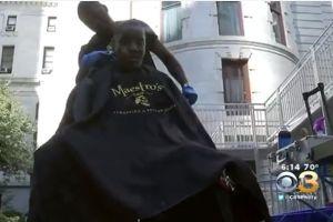 Estilista de Filadelfia tiene noble gesto con indigentes y recibe gran recompensa