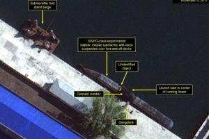 """Las imágenes que muestran el programa secreto de Corea del Norte para desarrollar """"submarinos capaces de lanzar misiles balísticos"""""""