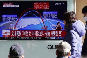 Qué se sabe del Hwasong-15, el misil balístico intercontinental lanzado por Corea del Norte
