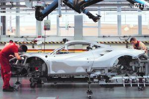 Video: así trabajan en la fábrica de Ferrari