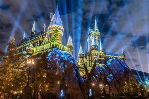 La navidad llega al mundo de Harry Potter en Universal Studios Hollywood