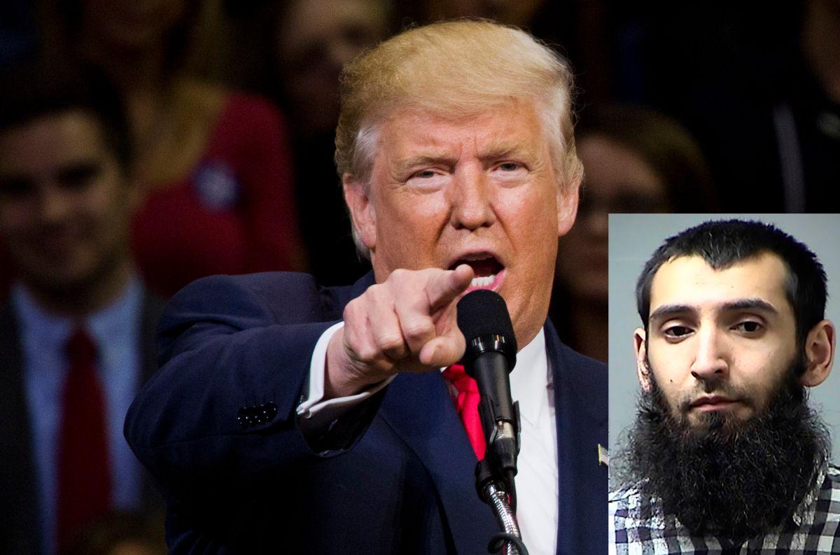 Trump pide pena de muerte para autor de los atentados en Nueva York