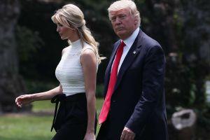 La razón por la que Donald Trump se molestó con Ivanka