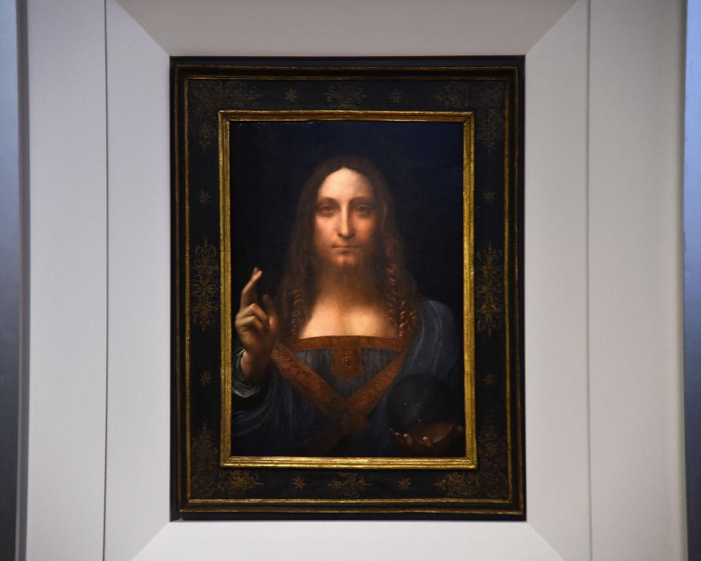 Algunos consideran que la pintura fue hecha por un discípulo de da Vinci.