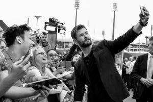 El actor Chris Hemsworth está en México
