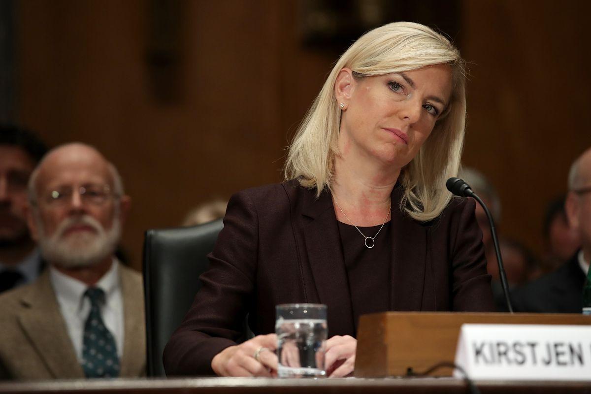 Kirstjen Nielsen  es la secretaria de DHS que fue impuesta por el jefe de gabinete John Kelly para perseguir a los inmigrantes