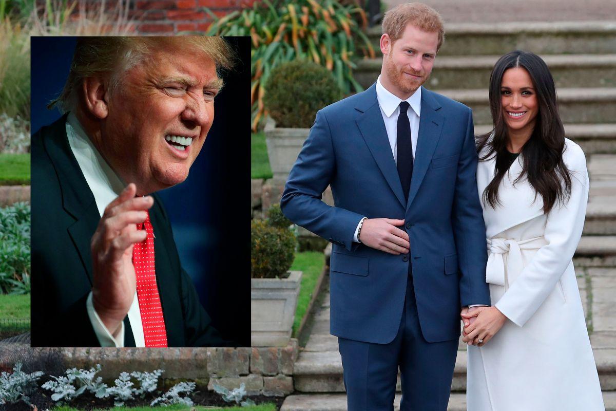 Trump rompe su silencio sobre la boda del Príncipe Harry