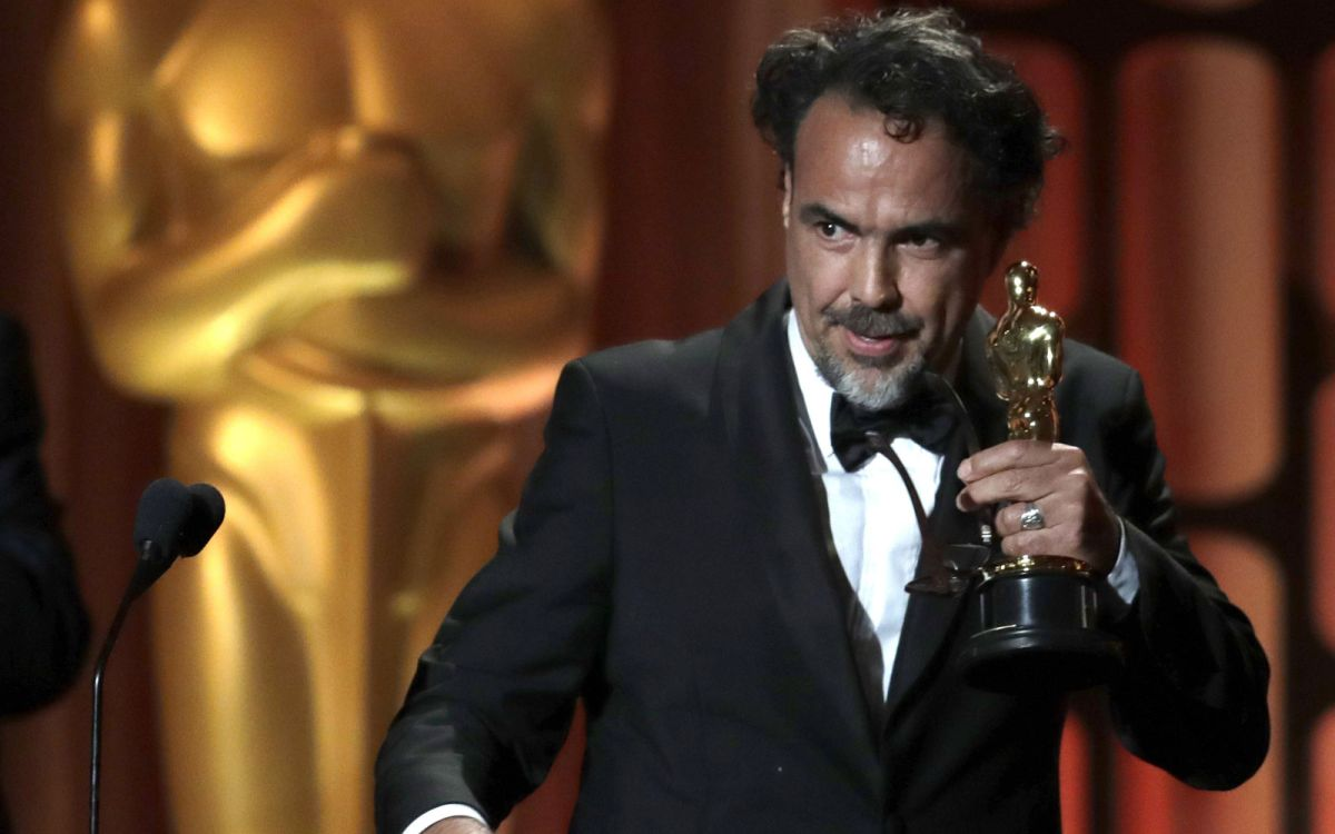 Iñarritu ganó un Óscar especial por 'Carne y Arena'.