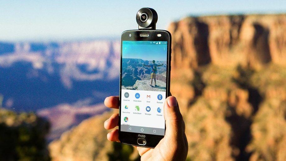 El smartphone de Motorola toma videos y selfies en 360°