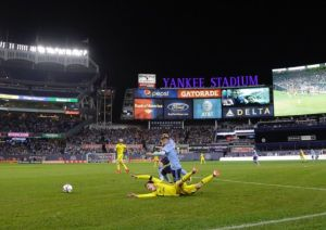 Playoffs MLS: NYC FC acarició la hazaña ante Columbus, pero el gol ganador no llegó