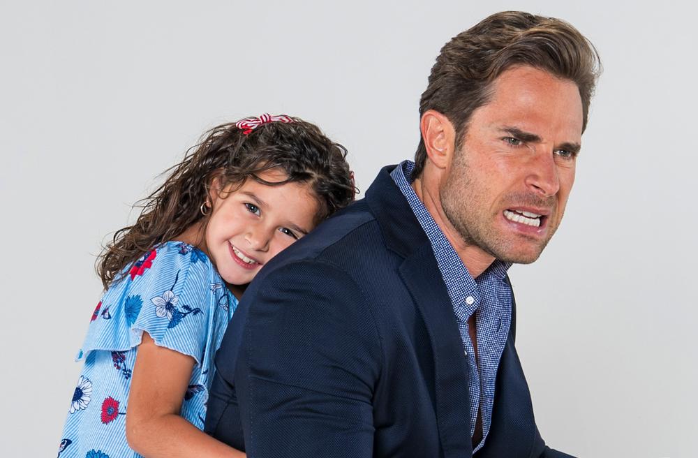 Sebastián Rulli se despide de su 'hija' y elenco de 'Papá a toda madre'