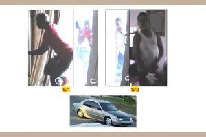 Cámara de seguridad capta a dos hombres robando más de $20,000