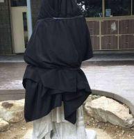 Colegio cubre imagen de San Martín tras volverse viral en Facebook