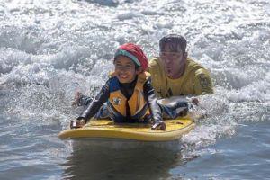 ¡Gratis! Programa de surf para niños con necesidades especiales este sábado