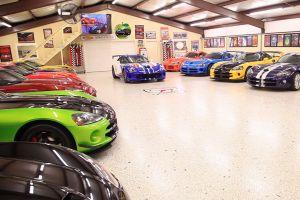 Video: la mejor colección de Dodge Vipers