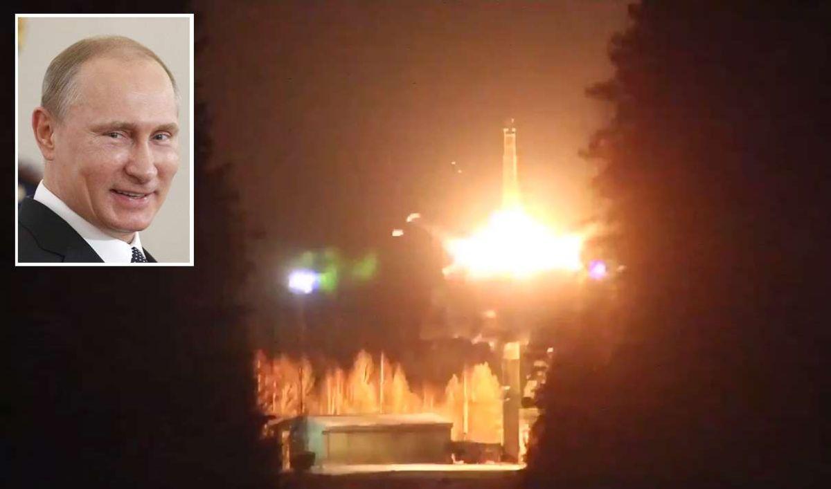 Putin prueba poderoso misil nuclear que no podría ser detenido por EEUU