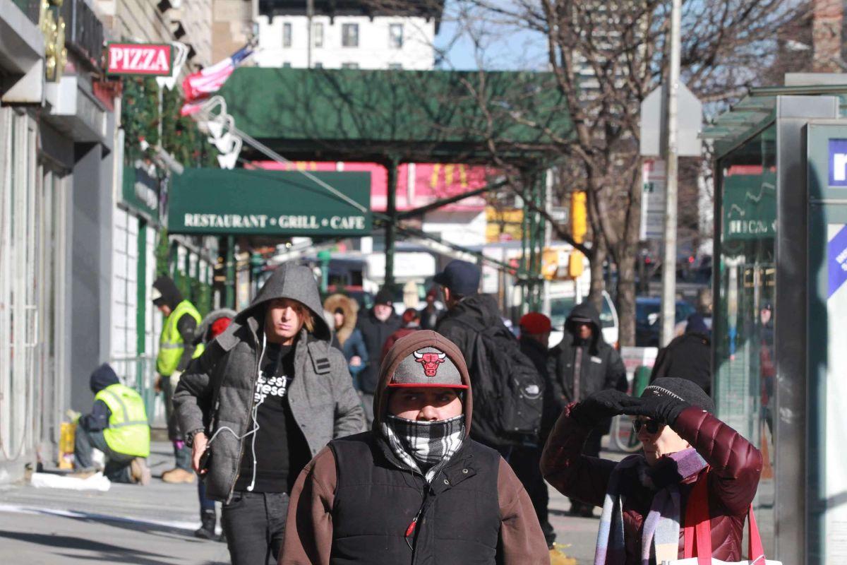 Las bajas temperaturas en NYC continuarán en los próximos días.