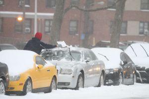 La tormenta de nieve ya se siente en NYC