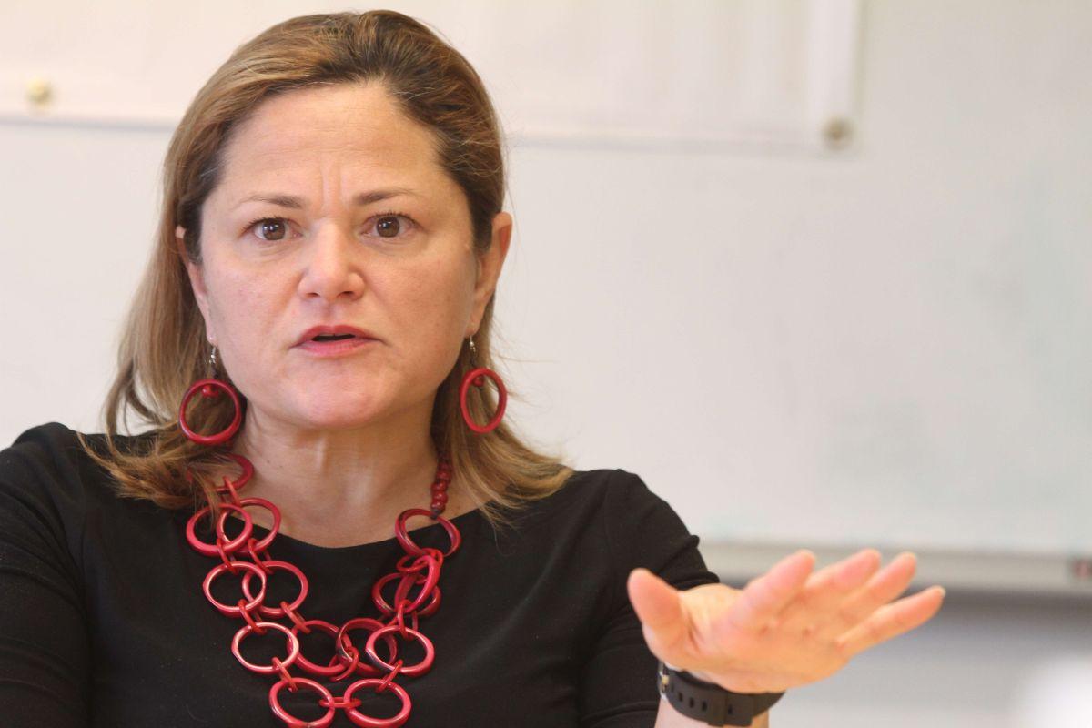 La presidenta del Concejo Municipal, Melissa Mark-Viverito, en una mesa redonda con El Diario.