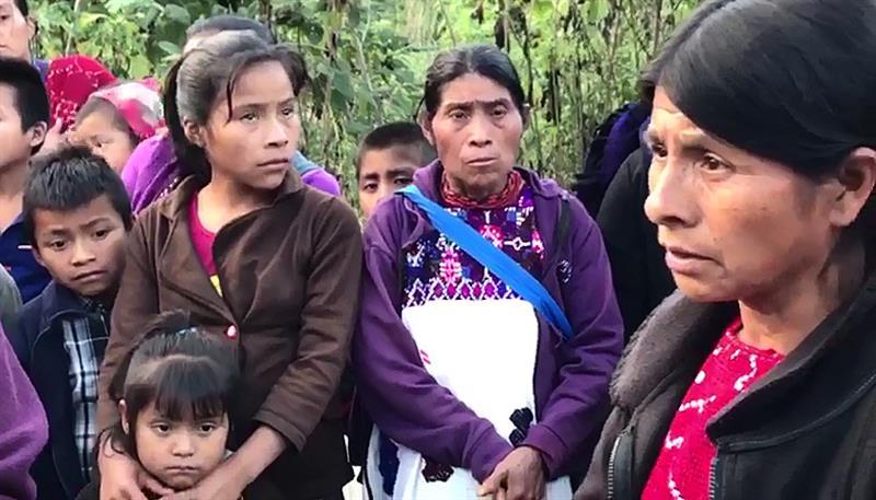 Mueren por hambre y frío siete indígenas desplazados en Chiapas