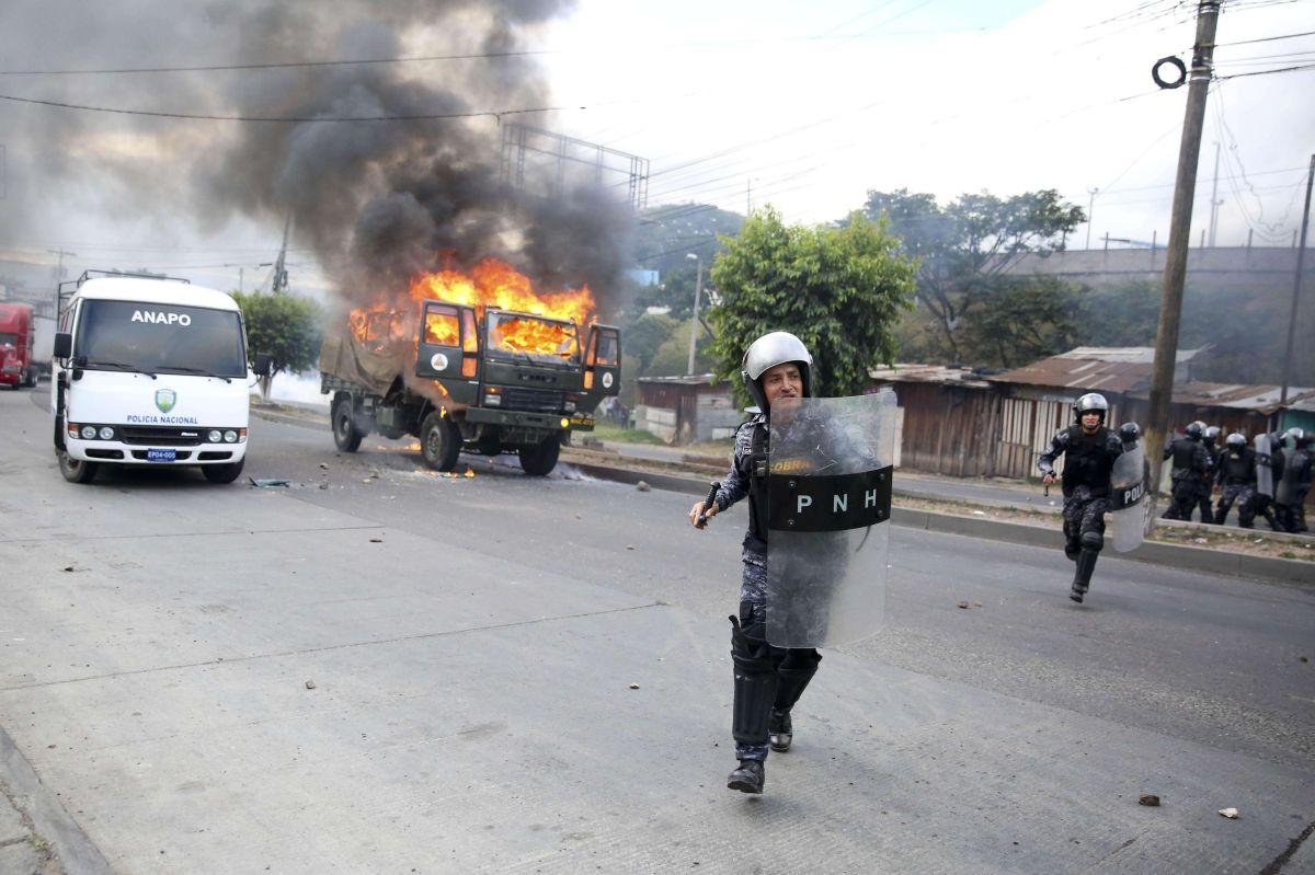 Video: Caos en calles de Honduras por fraude electoral