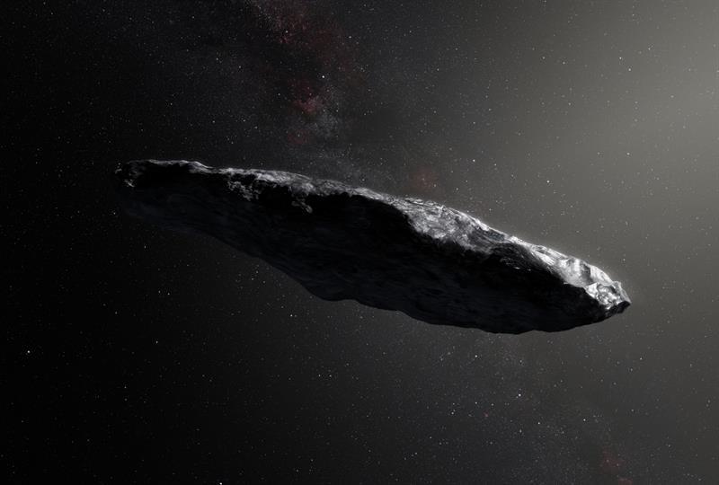 Toda la verdad de  Oumuamua, el primer objeto extraterrestre que nos visitó