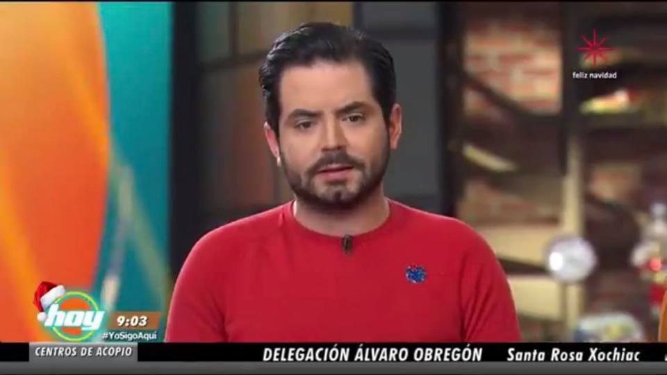 Video: José Eduardo Derbez sale del programa 'Hoy'