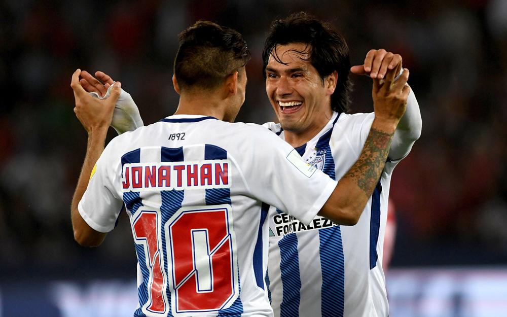 Víctor Guzmán anotó el gol del triunfo a tres minutos del final del segundo tiempo extra