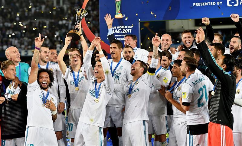 Real Madrid suma su tercer título mundial e iguala al Barcelona