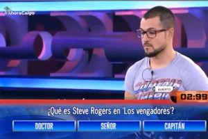 Video: Contesta mal pregunta en concurso de TV ¡y tenía la respuesta en su camiseta!