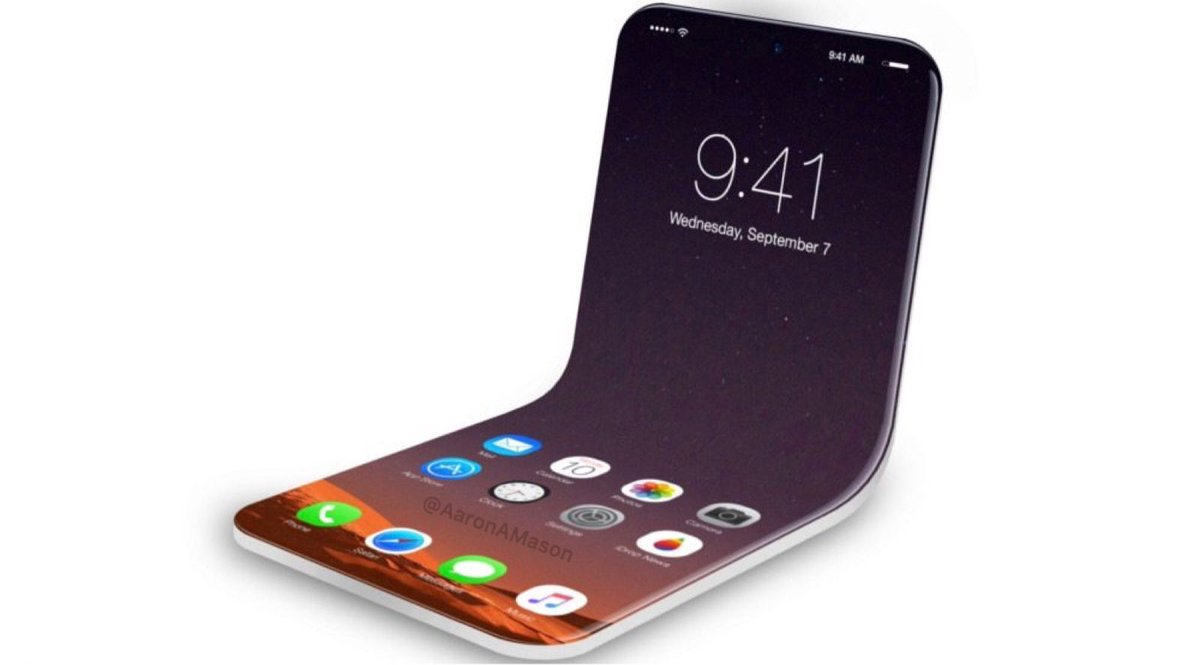 ¿Está trabajando Apple en un iPhone flexible?