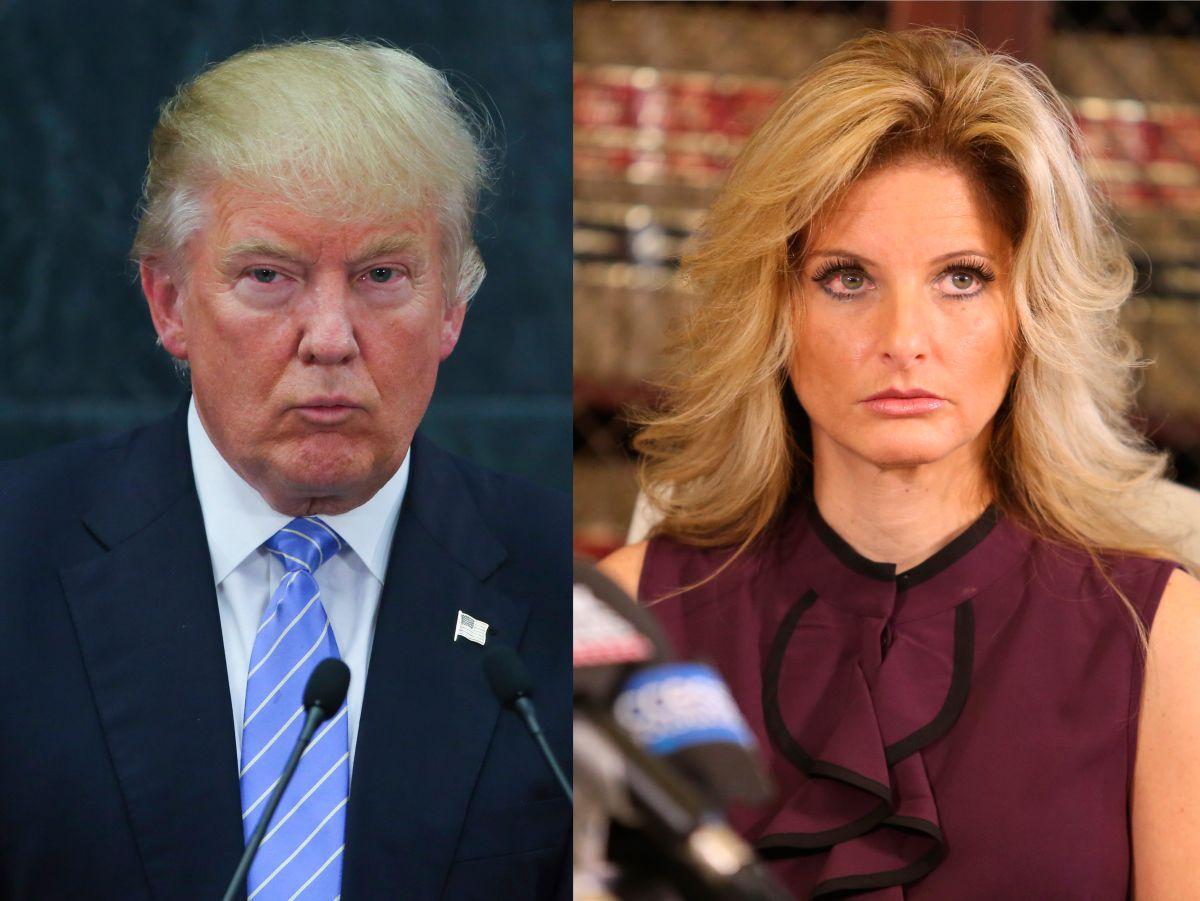 Summer Zervos denunció que Trump la agarró y la besó a la fuerza en 2007