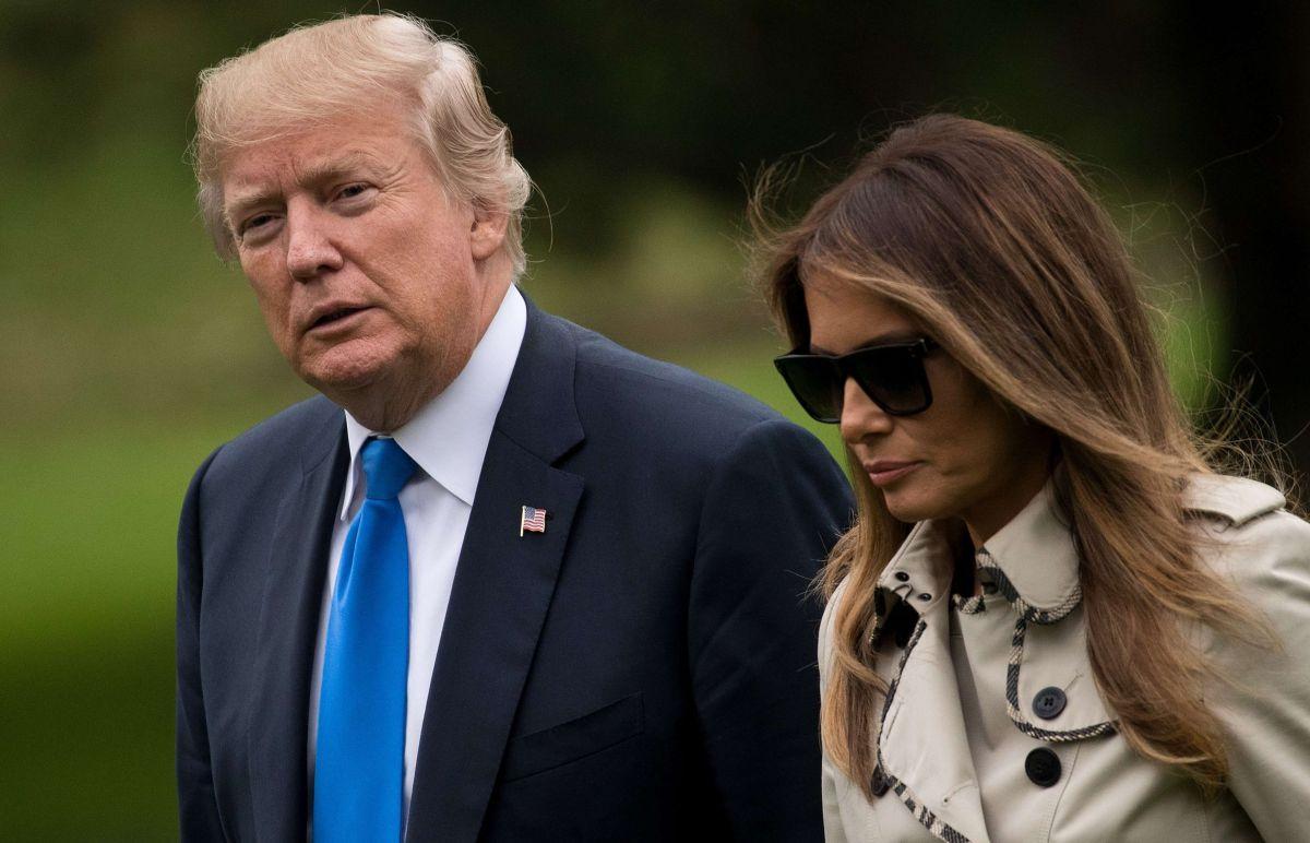 ¿Por que Melania canceló su viaje a última hora con el Presidente Trump a Suiza?