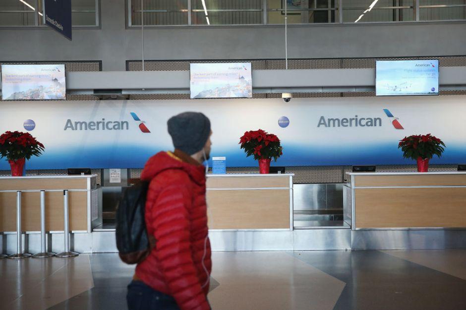 Malas noticias si pensabas viajar del 17 al 31 de diciembre con American Airlines