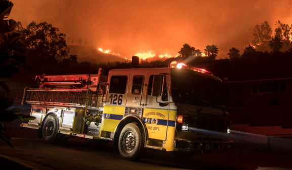 Desamparado cocinando causó incendio Skirball en Los Ángeles