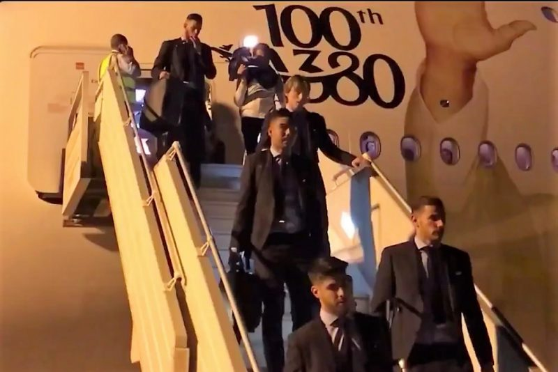 Real Madrid ya llegó a Abu Dhabi y conoció a su sorpresivo rival