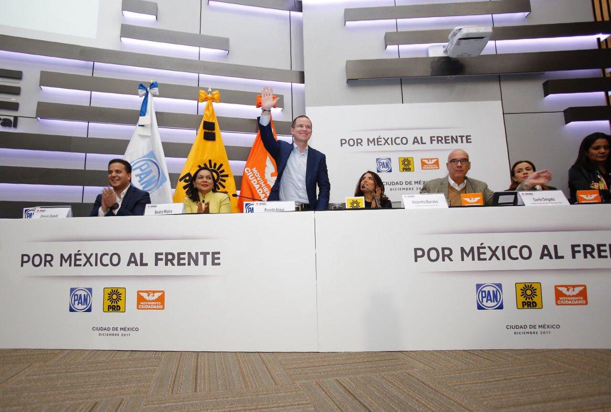 Ricardo Anaya precandidato presidencial. /Twitter