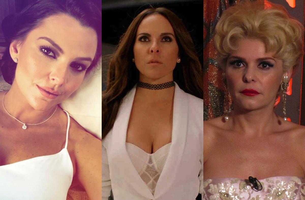 Marjorie de Sousa, Kate del Castillo e Itatí Cantoral estarán en pantalla en el 2018