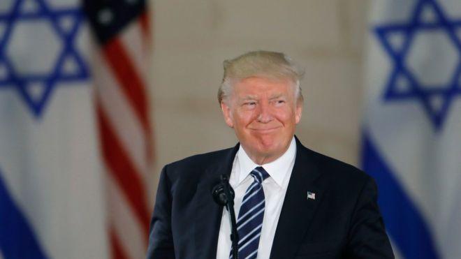Preocupación por anuncio de Trump de reconocer a Jerusalén como capital de Israel