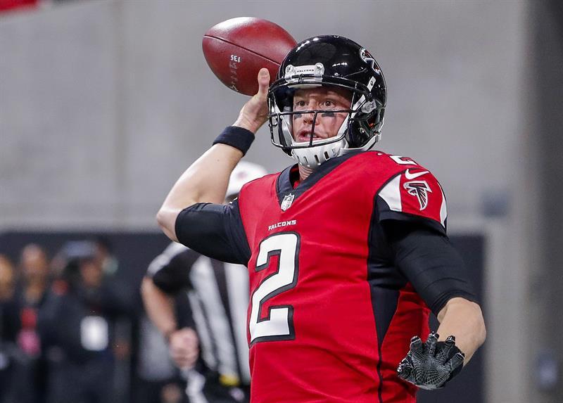 Matt Ryan, quarterback de Atlanta Falcons. EFE
