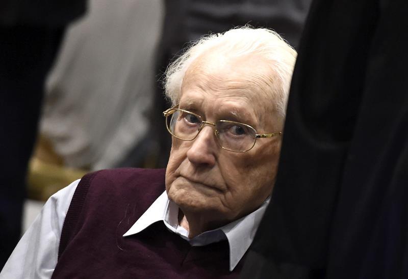 """Alemania rechaza indulto para el """"contador de Auschwitz"""""""
