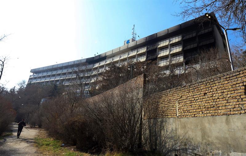 Cuerpos calcinados y relatos de terror en el hotel Intercontinental de Kabul